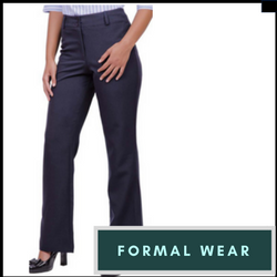 formal wear - ladies bootleg pants