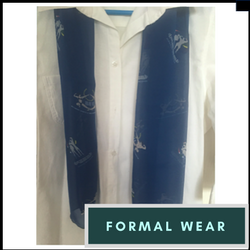 formal wear - satin scarf