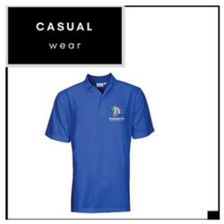 ROYAL BLUE GOLF SHIRT